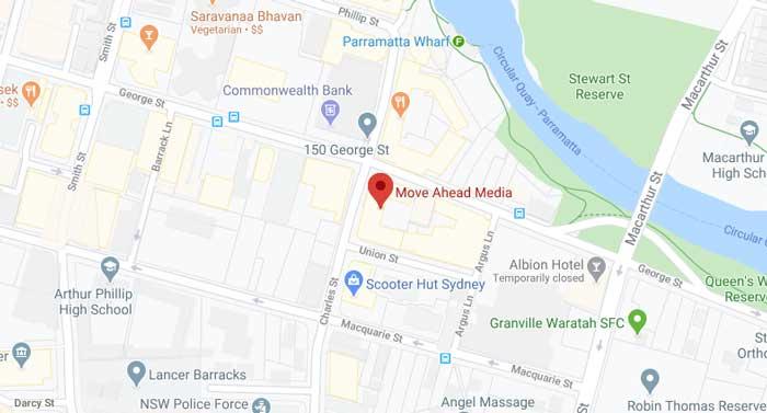 Move Ahead Media Map